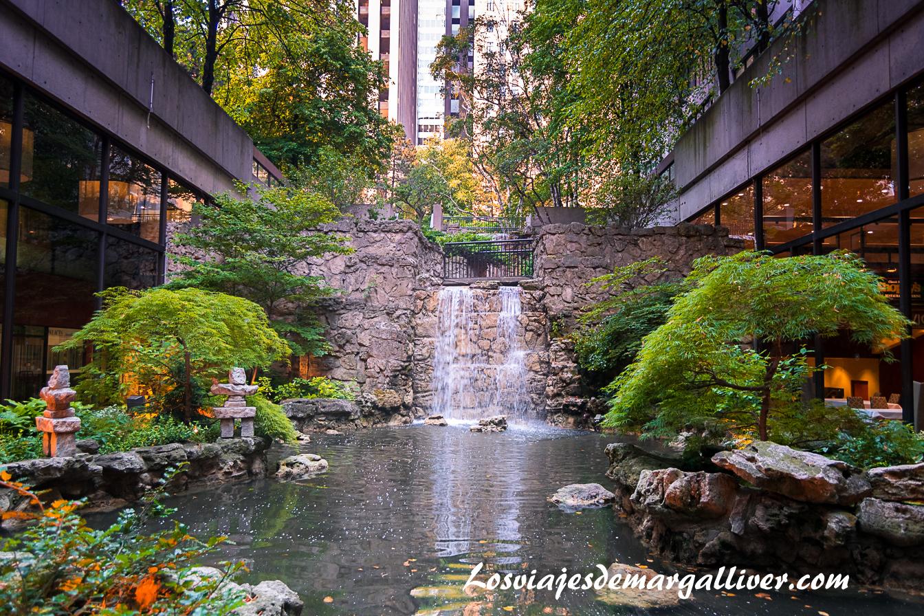 Cascada del hotel Sheraton en Toronto - Hoteles en Canadá - Los viajes de Margalliver